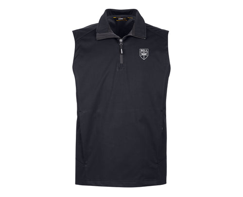 Mens Quarter-Zip Vest