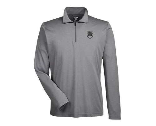 Mens Sonic Heather Quarter-Zip