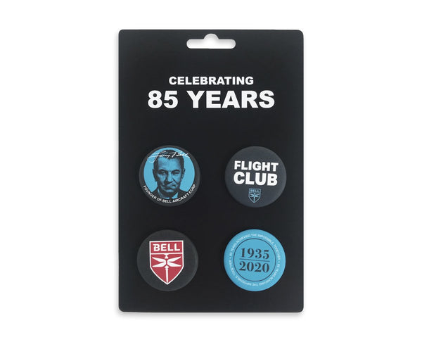 85th Anniversary 4 Button Card