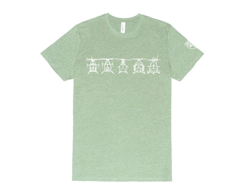 Commercial Aircraft Tee-Green