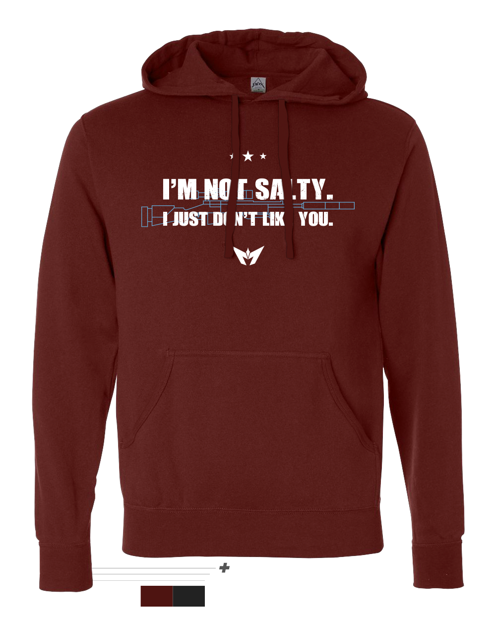 I'm Not Salty Pullover Hoodie