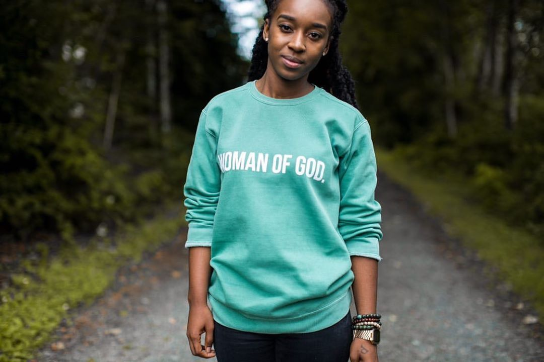 (Perry's) Woman of God Crewneck