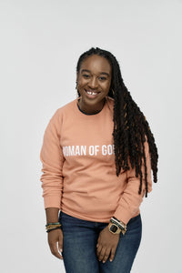 Woman of God Crewneck (terracotta)