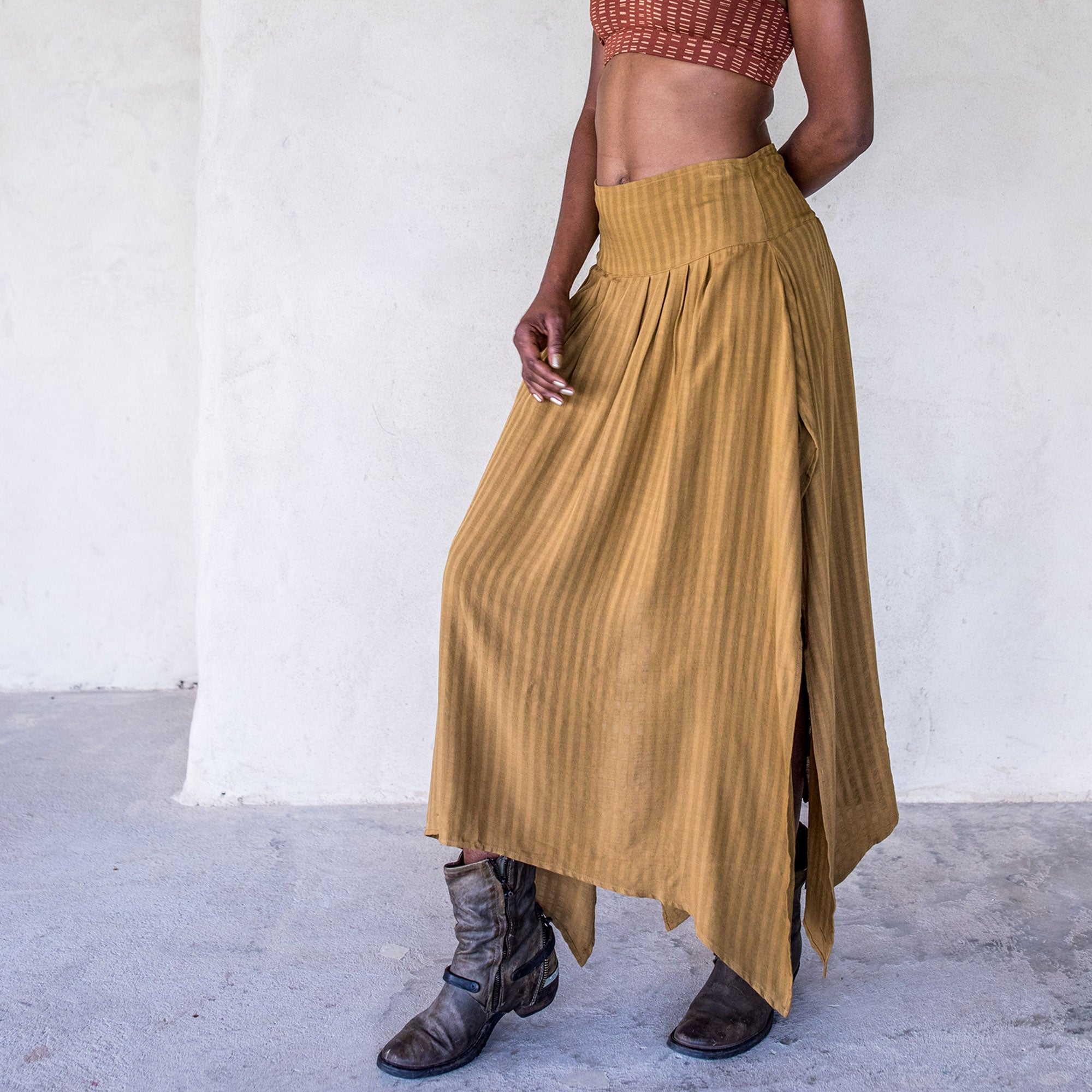 Abby Skirt - Tumeric - Idis Designs