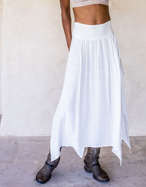 Abby Skirt - White