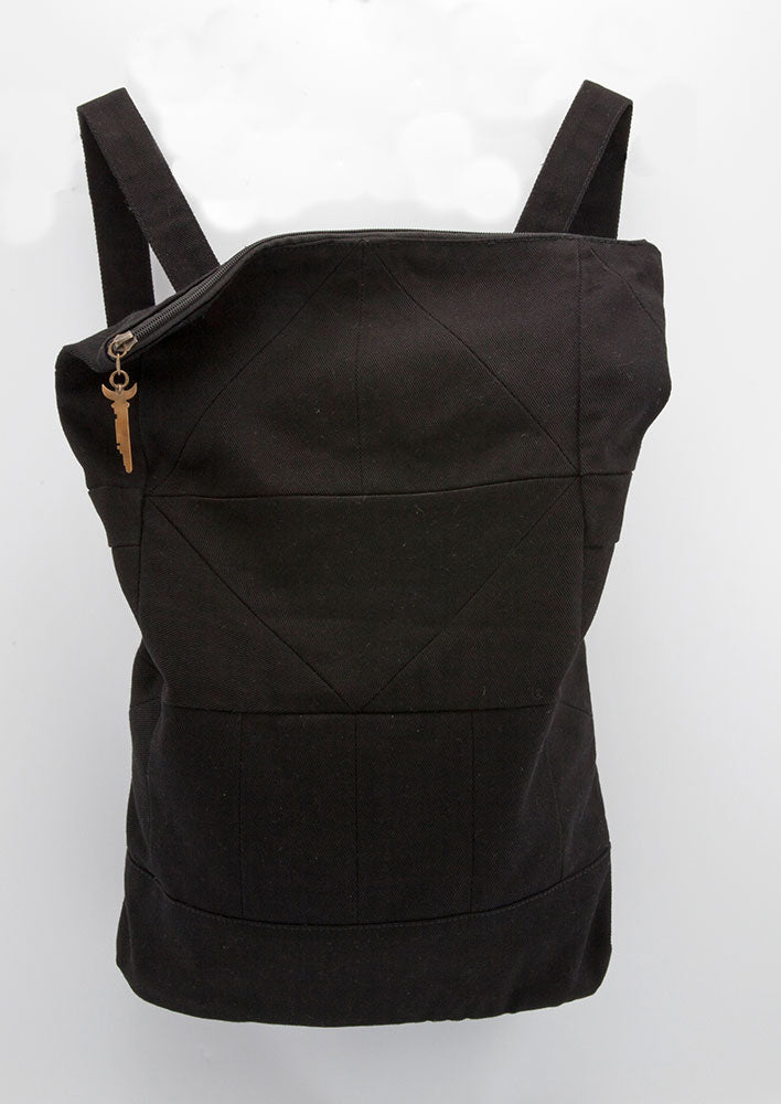 Black Geo Pack - Backpack