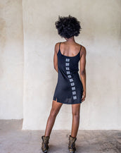Graceful Rebellion Dress - Black