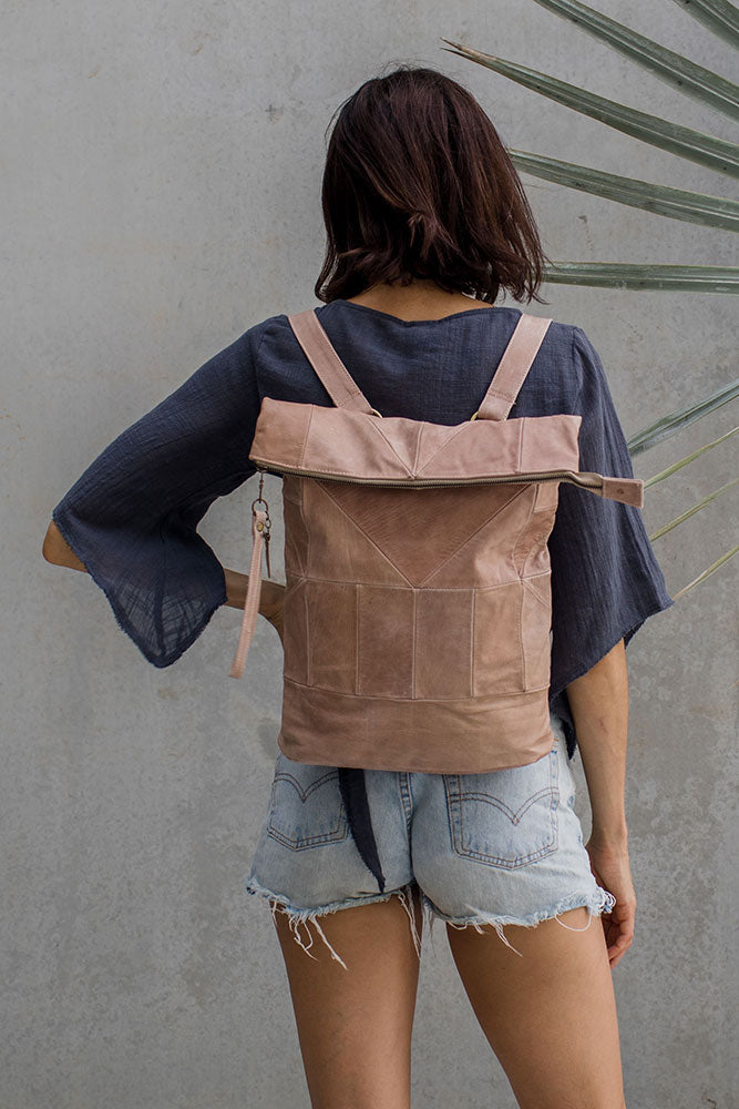 Dusty Leather Geo Pack