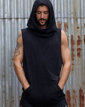 Hooded Tank - Black