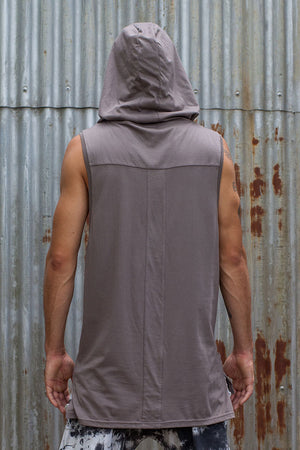 Hooded Tank - Grey - Idis Designs