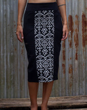 Long High - Tube Skirt - Tribal