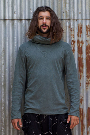 Mens Long Neck - Teal - Idis Designs