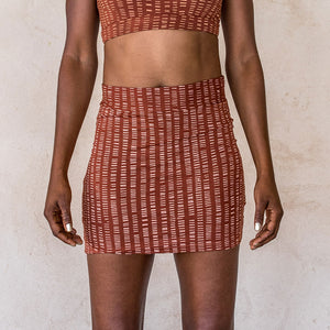 Mini Skirt - Ochre - Idis Designs