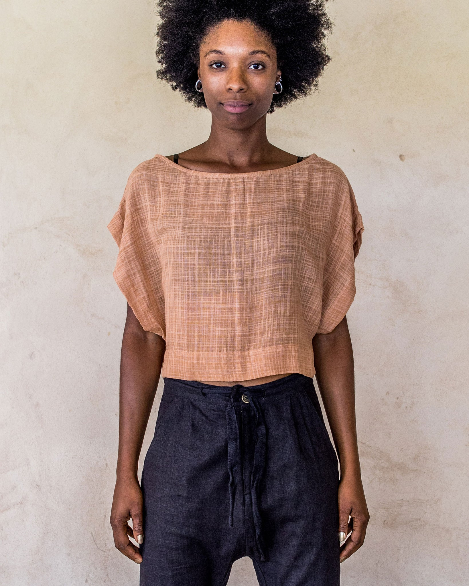 Hayley Crop - Nude - Idis Designs