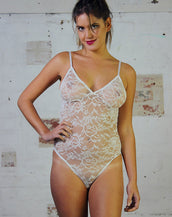Bodysuit - White Lace