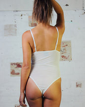 Bodysuit - White Mesh
