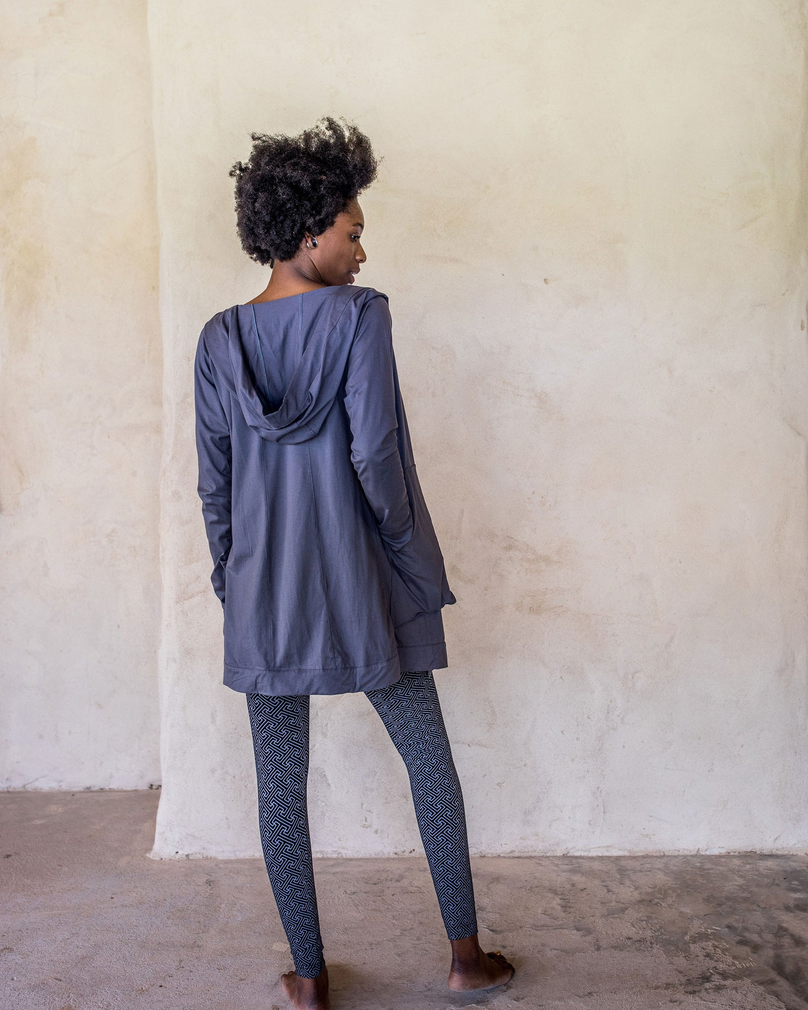 Unisex Draped Jacket - Idis Designs