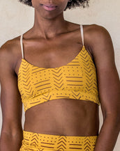 Lexi crop - Yellow tribe