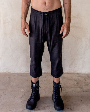 Linen Pants - Black - Idis Designs