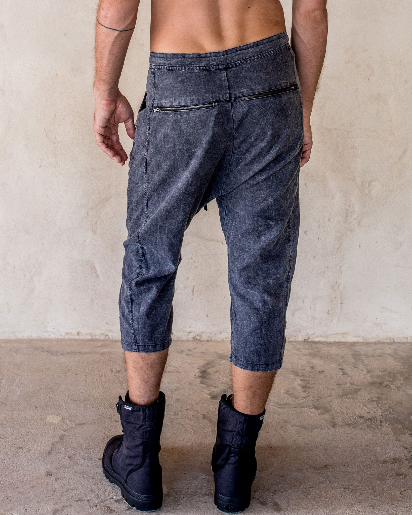 Linen Pants - Stone - Idis Designs