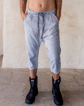 Linen Pants - Washed Stone