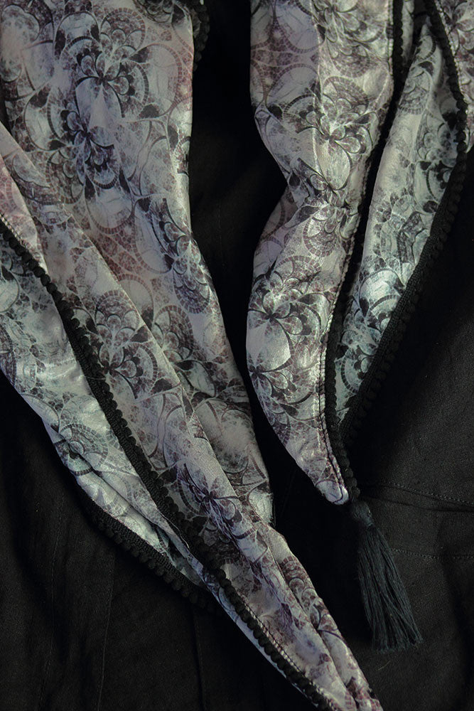Silk Scarf - Into Dust - Idis Designs