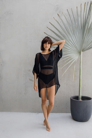 Wrap Top - Black - Idis Designs
