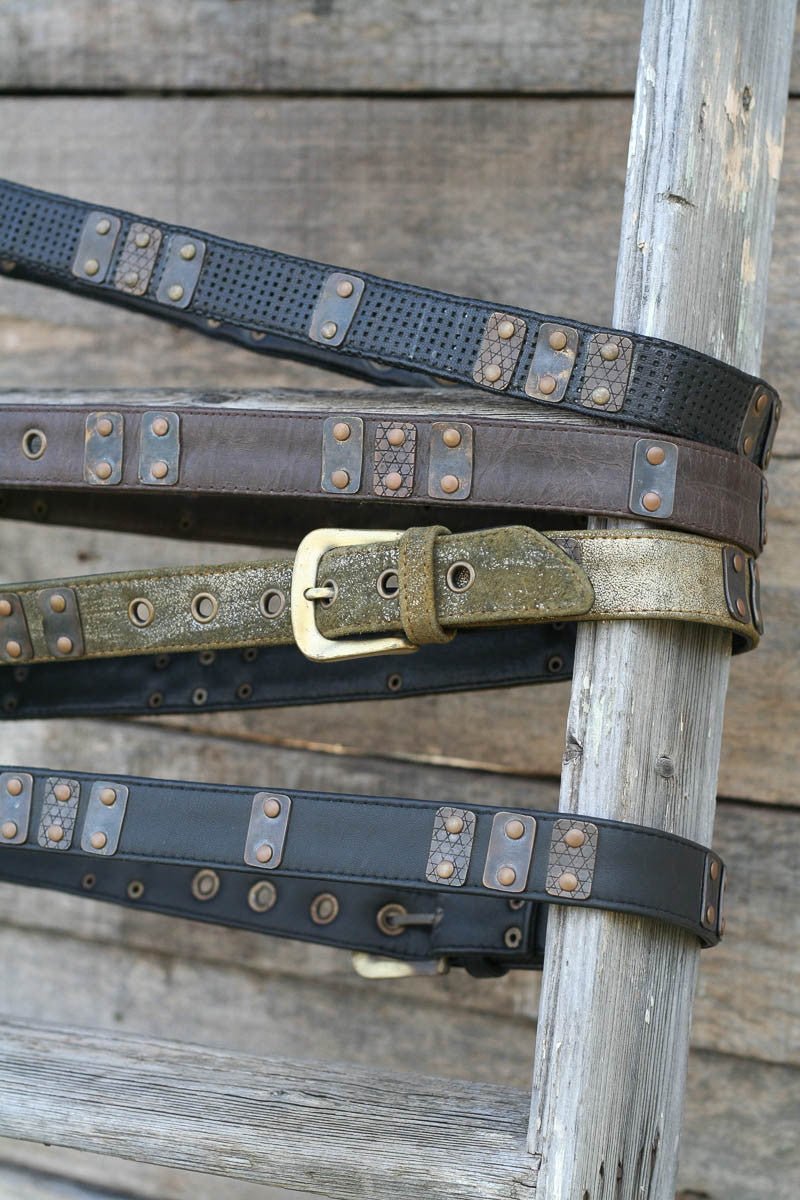 Rustic Tracks Belt - Idis Designs