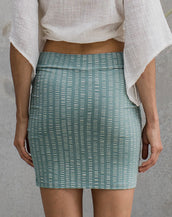 Tribal Tube Skirt - Moss