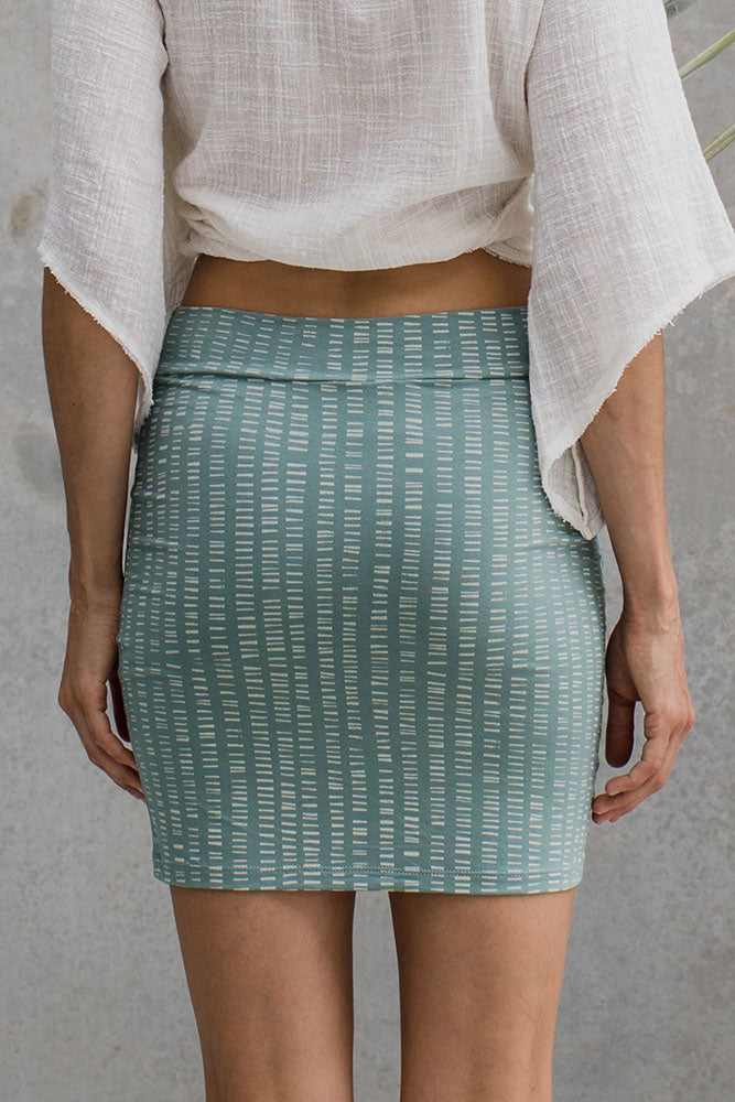 Tribal Tube Skirt - Moss - Idis Designs