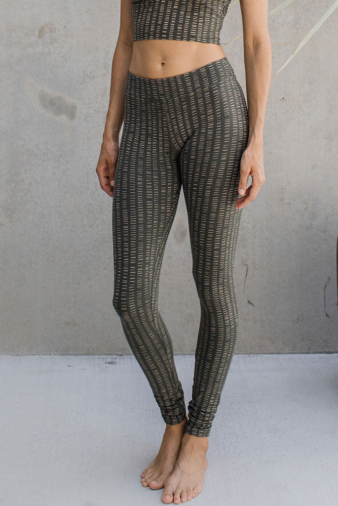 Leggings - Lines of Forest - Idis Designs