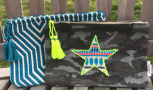 Ashiana Small camo star pouches