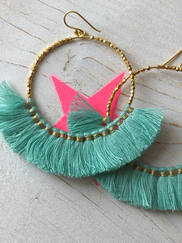 Ashiana Aquata Fringe Earrings