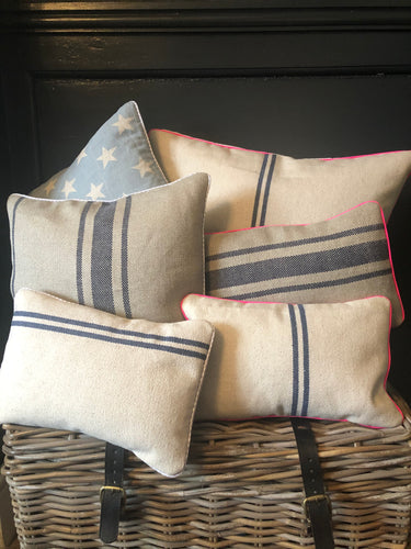Percy and Dottie Small Oblong Cushions