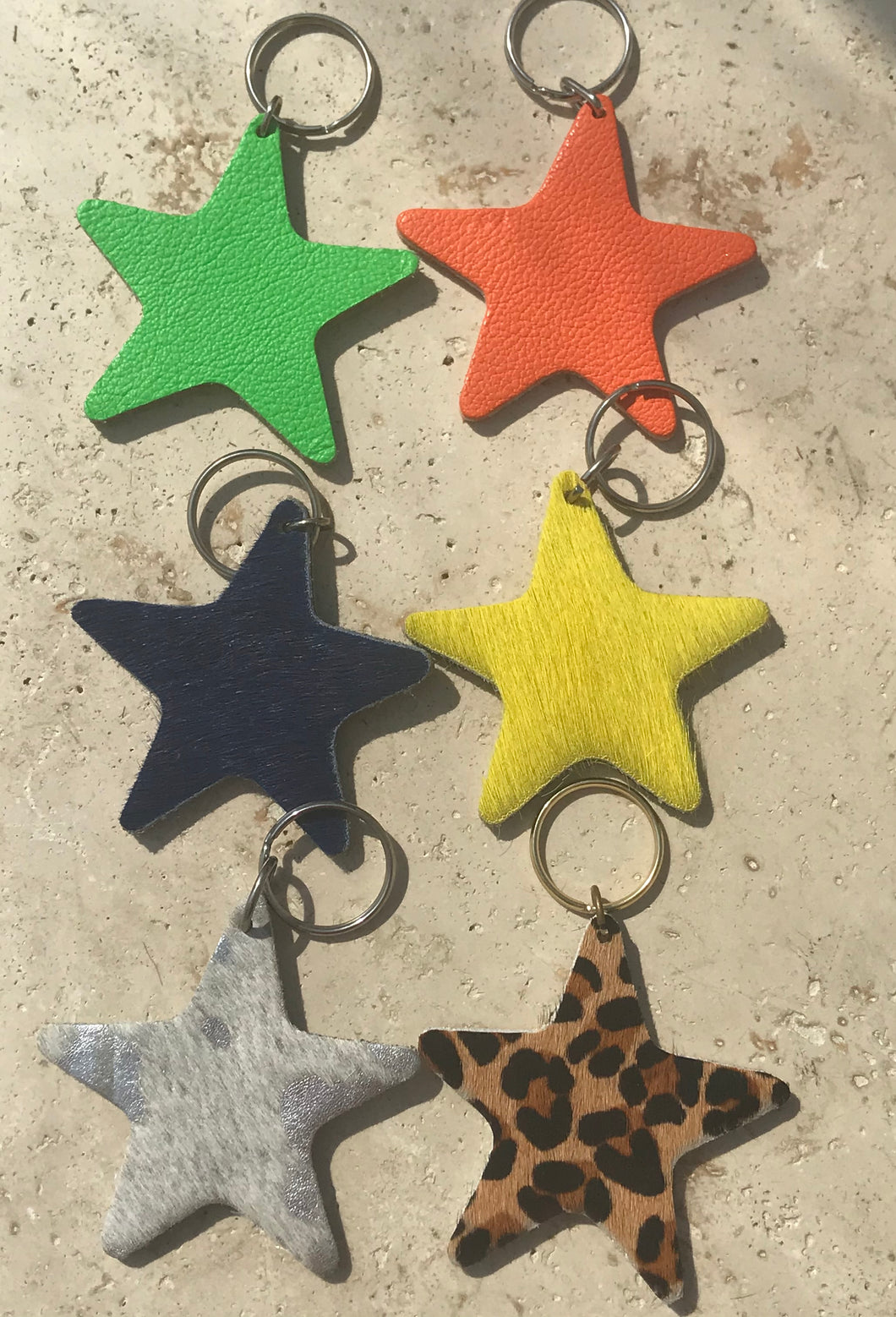 Star key rings