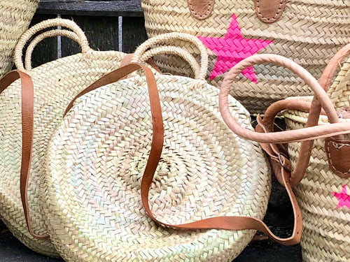 Cross Body Round Basket