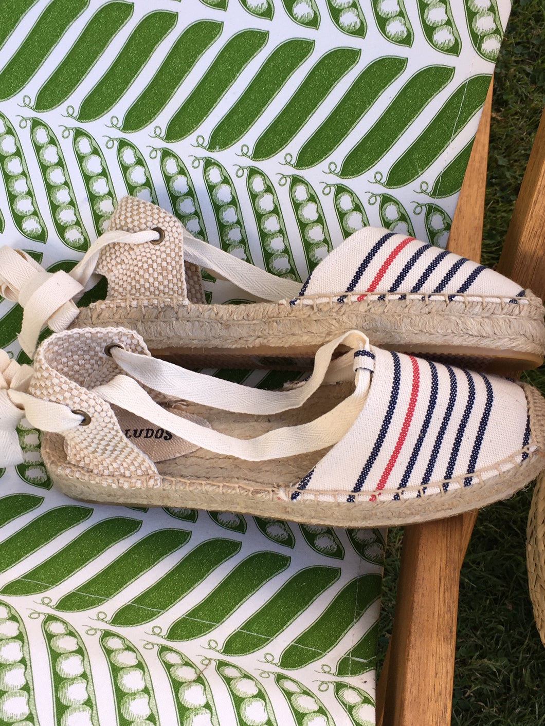 Soludos Striped Gladiator Espadrilles