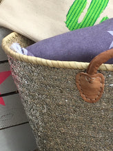 Sliver Sequin Basket