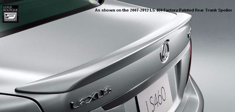 Genuine Lexus Japan 2007-2012 Lexus LS Factory Painted Rear Spoiler
