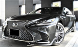 Genuine Lexus Japan 2018-2020 LS 500/500h Factory Painted Front Spoiler Kit with Chrome Garnish