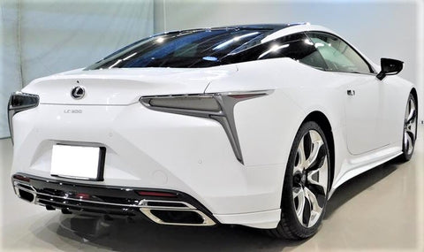 TRD JAPAN 2018-2021 Lexus LC 500/500h Rear Bumper Side Spoiler and Rear Diffuser Kit