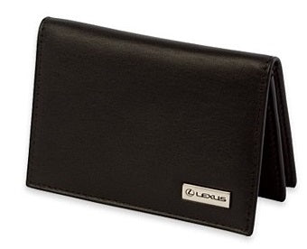 Lexus Leather Business Card Holder