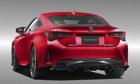 TRD JAPAN 2019-2020 Lexus RC Factory Painted Rear Diffuser Kit and Dual Exhaust System