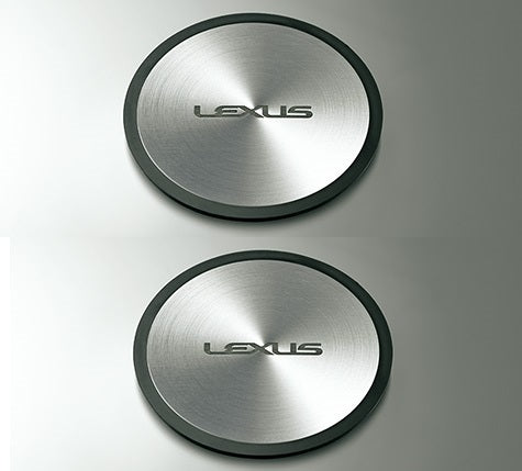 Genuine Lexus Japan 2018 LS 500/500h Aluminium Cup Holder Plate Set