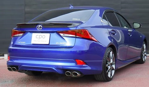 Genuine Lexus Japan 2017-2019 IS Factory Painted Rear Skirt and Dual Exhaust System