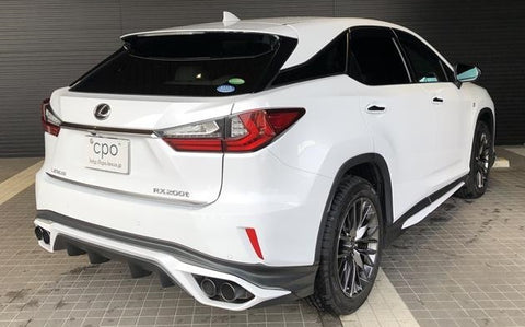 TRD JAPAN 2016-2019 Lexus RX Factory Painted Rear Diffuser Kit and Dual Exhaust System