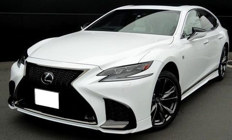 TRD JAPAN 2018-2020 Lexus LS 500/500h F-Sport Factory Painted Front Spoiler Kit