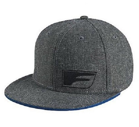 Lexus Racing F Flat Bill Gray Hat Baseball Cap