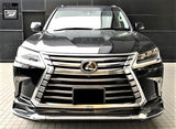 Genuine Lexus Japan 2016-2021 LX 570 Factory Painted Front Spoiler Kit with Chrome Garnish