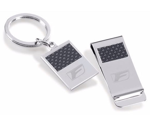 Lexus Racing F Money Clip and Key Ring Gift Set